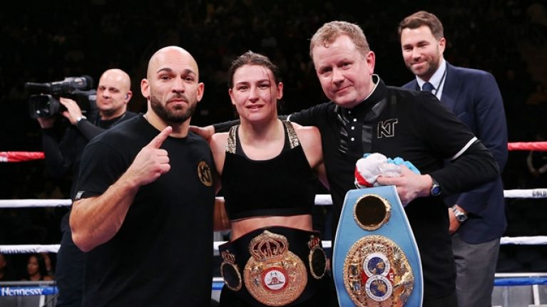 Katie Taylor's next fight has been announced for March in Philadelphia