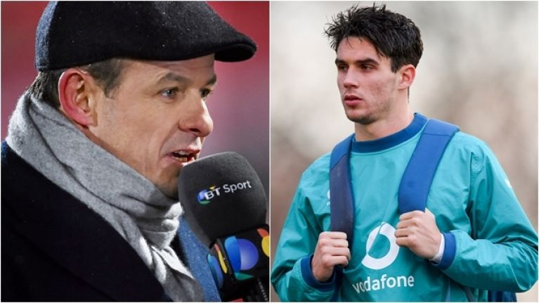 Austin Healey jokes about wanting Joey Carbery to start against England