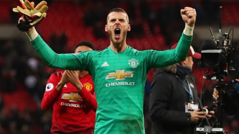 David de Gea welcomes back 'the real Man Utd' in post-match interview