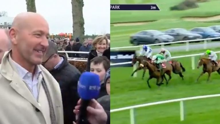 Presenting Percy jumps like a stag on return and everyone's on about the Gold Cup now