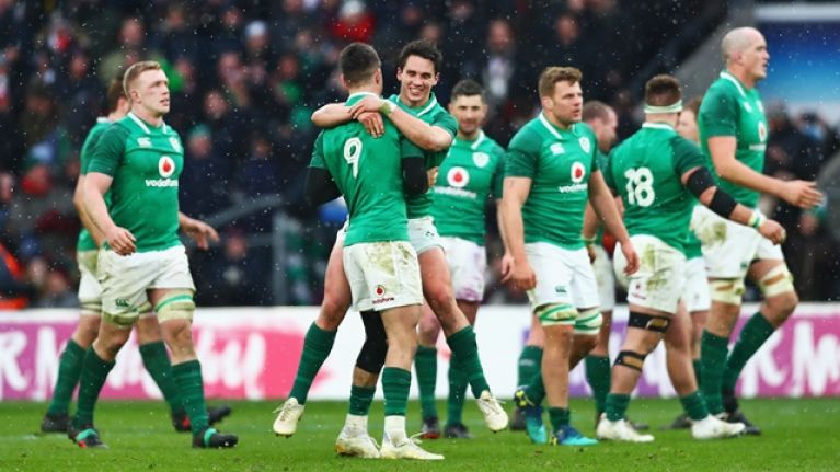 Eight Irish players nominated for European Player of the Year award
