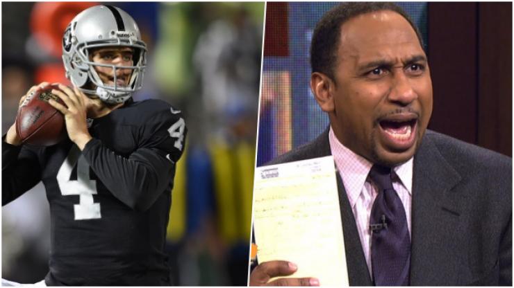 NFL star Derek Carr asks Dana White to set up fight with pundits