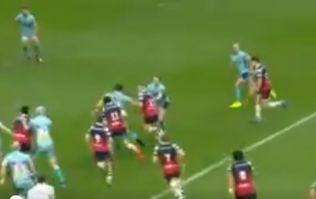 Brilliant piece of play from Ian Madigan sets up superb try for Bristol