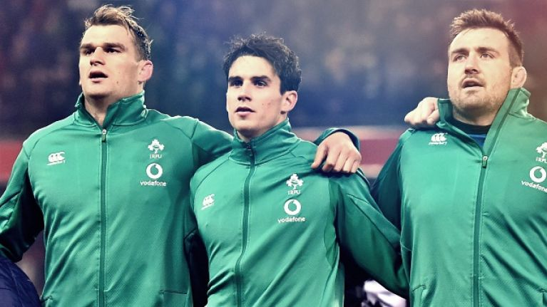 English media get worked up about Joey Carbery ahead of Ireland clash