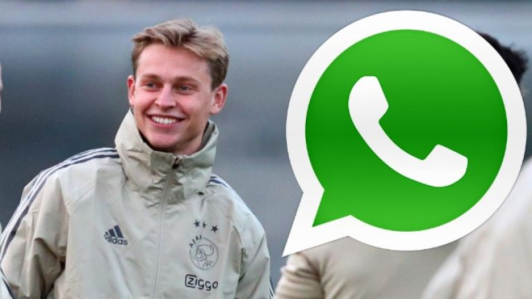 Barcelona used Neymar's WhatsApp messages to help sign €75m Ajax star