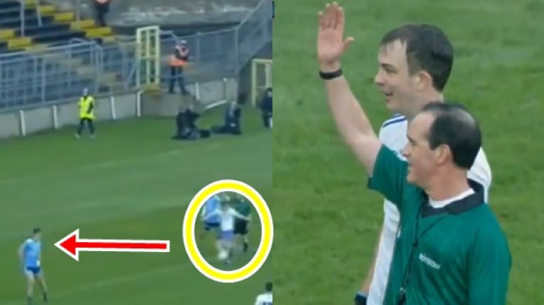Cheeky Jack McCarron gets called back for brilliant act of opportunism