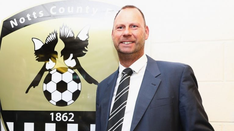 Notts County owner apologises for tweeting picture of penis before