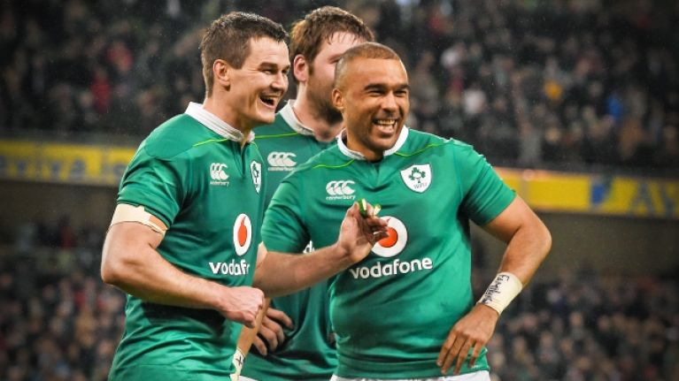 'Zebo is on fire but Joe is not going to change his mind' - Andrew Trimble