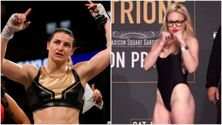 Heather Hardy admits she is a potential opponent for Katie Taylor this year