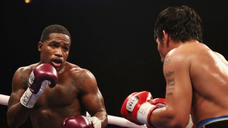 Adrien Broner gives controversial post-fight interview after loss to Manny Pacquiao