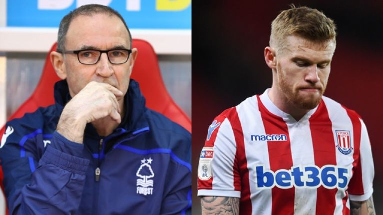 Martin O'Neill wants to sign James McClean for Nottingham Forest