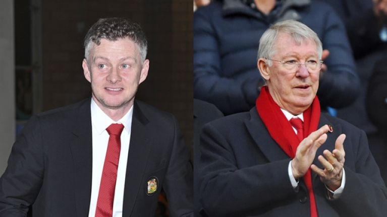 "Ole Gunnar Solskjaer is in ""daily contact"" with Alex Ferguson"