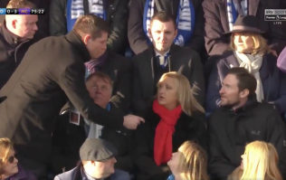 Sky Sports reporter tries to interview random Huddersfield fan who he thinks is their new manager