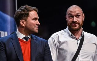 Tyson Fury reveals text message exchange with Eddie Hearn about Joshua fight