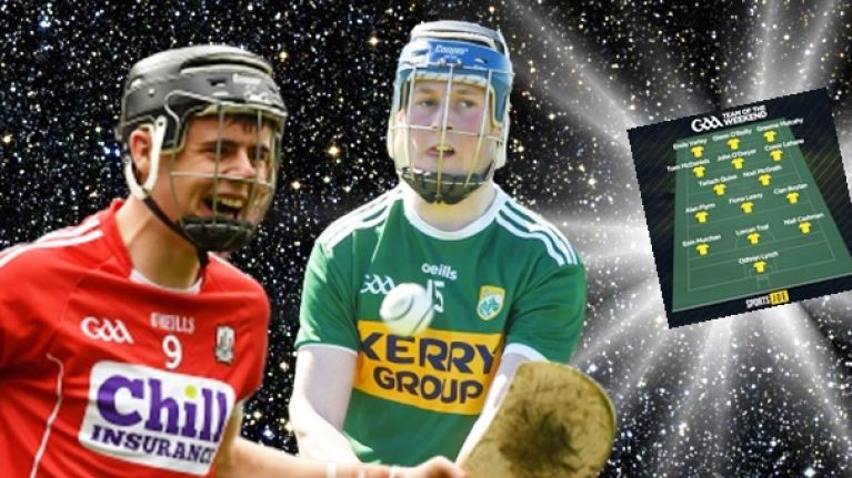 Hurling/Camogie team of the weekend