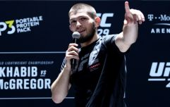 Khabib Nurmagomedov wants three fights before retiring and a McGregor rematch isn't one