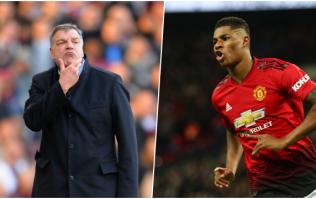 Sam Allardyce criticised for prediction about Marcus Rashford's playing future