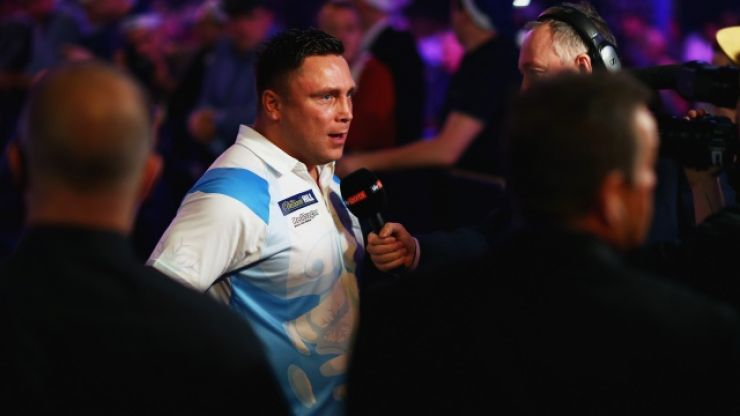 Gerwyn Price fined £21,500 and receives suspended three-month ban for Grand Slam antics