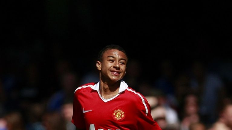 Jesse Lingard details Alex Ferguson talk that made him believe he could make it