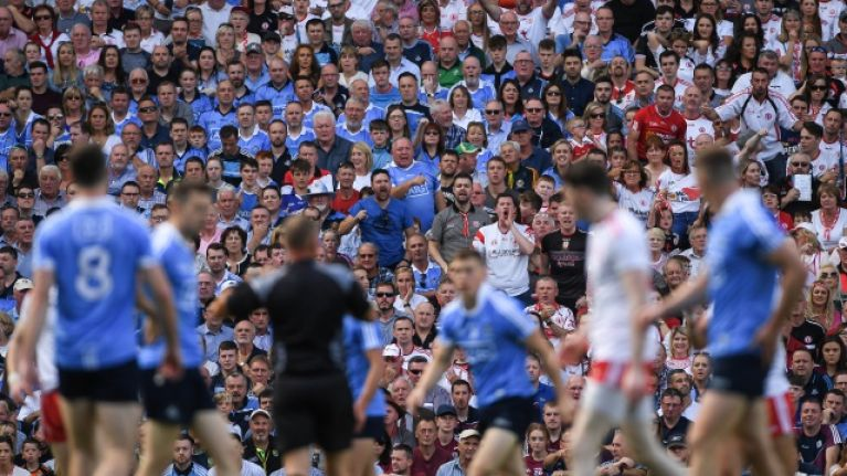Dublin and Tyrone fans show every emotion in beautiful Renaissance picture