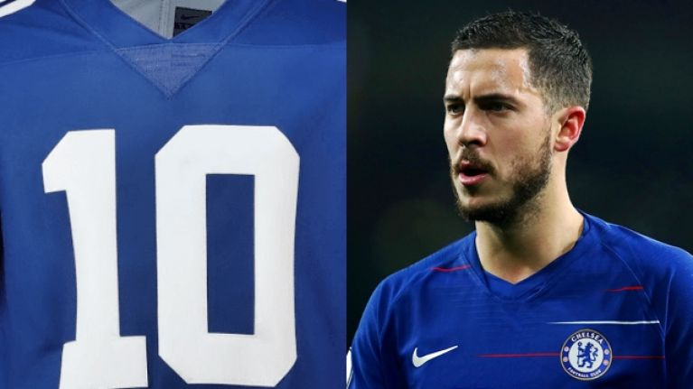 Chelsea third kit will feature an NFL collar next season