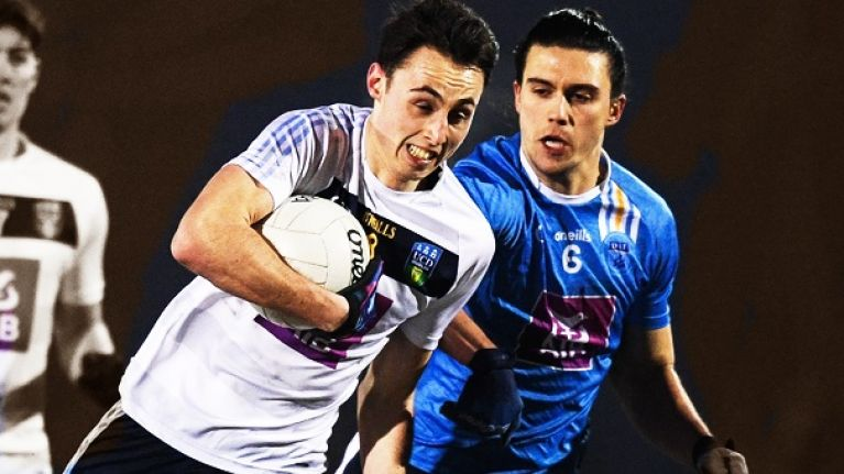 """He's a big prospect and if he doesn't nestle in beside Brian Fenton this year, I've no doubt in the next two or three..."""