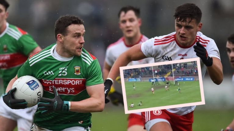 Andy Moran's tiki-taka pass doesn't get the finish it deserved