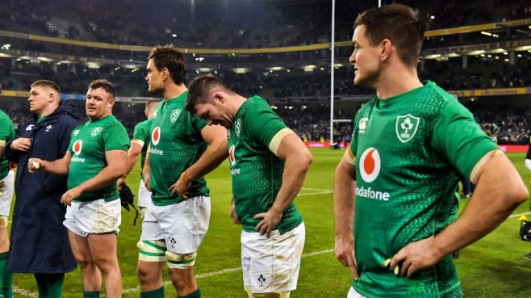 Trio of worrying injuries could force Joe Schmidt to shuffle his deck