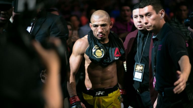 Jose Aldo actually apologised to Renato Moicano for beating him