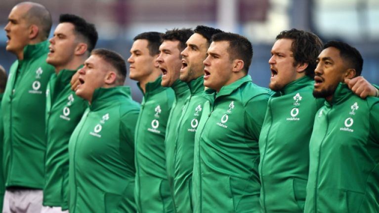 Solitary Irish player makes it onto Six Nations Team of the Week