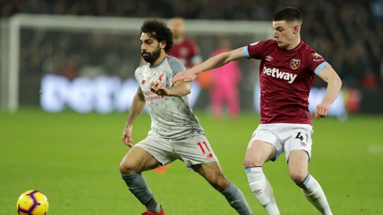 Liverpool drop more points in draw with West Ham at London Stadium