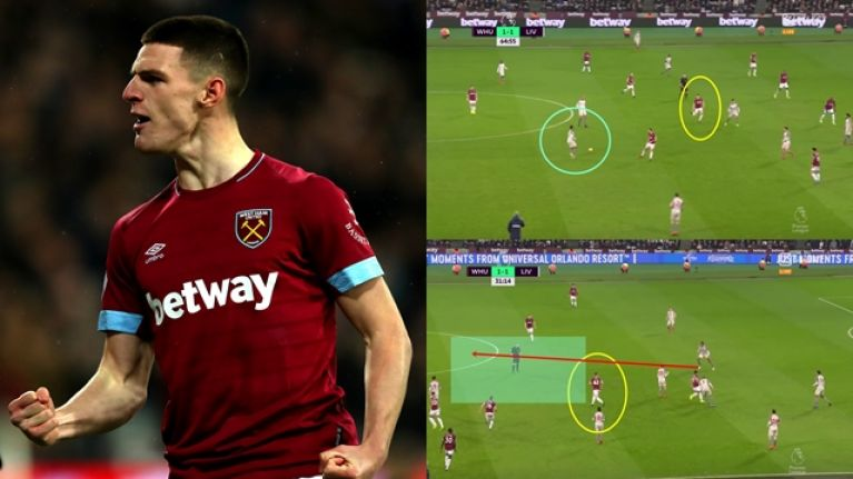 Declan Rice's performance against Liverpool proved that it doesn't matter which country he chooses to play for