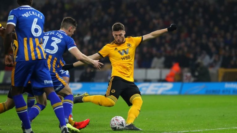 Matt Doherty records remarkable statistic in Wolves' FA Cup replay win