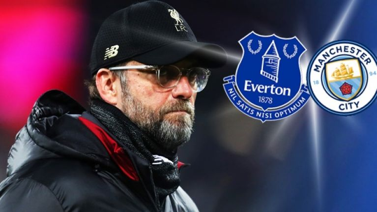 Liverpool fans cry conspiracy as Everton drop key players for Man City game