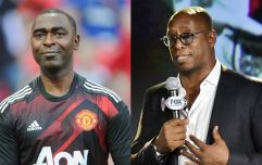 Andy Cole recalls Steve Bruce and Ian Wright tunnel fight
