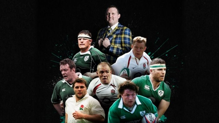 Rugby legends come together in Dublin for Doddie Weir