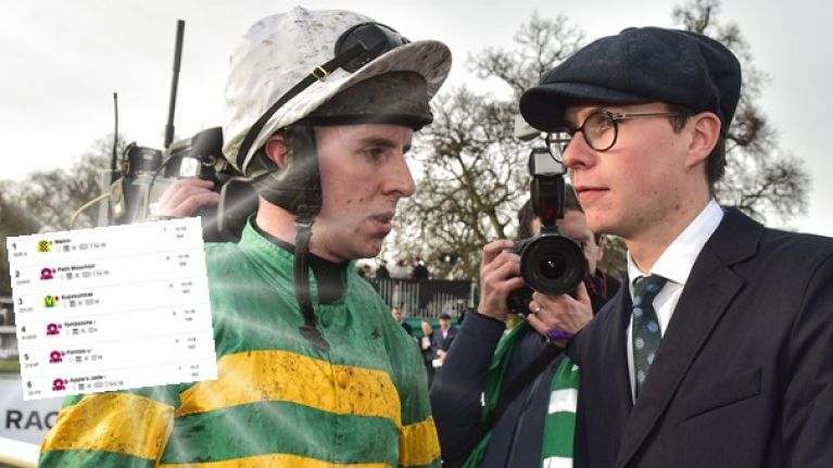 The 26/1 'dead cert' accumulator to help you go to town at the Dublin Racing Festival this weekend