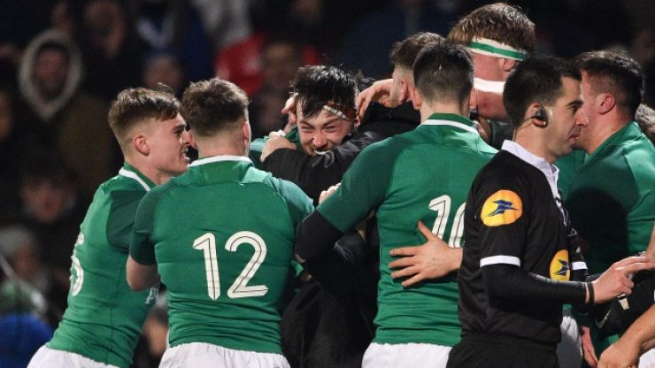Ireland U20s grind their way to victory over England in Six Nations opener