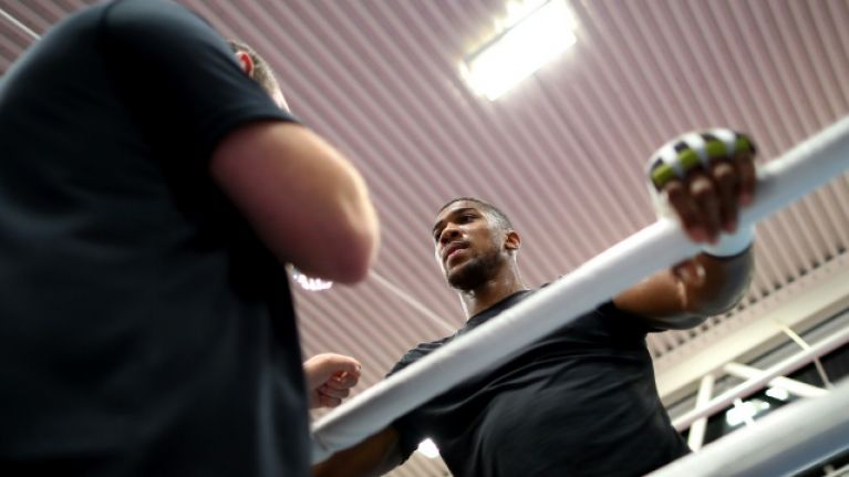 Eddie Hearn explains what happened with leaked Anthony Joshua phonecall