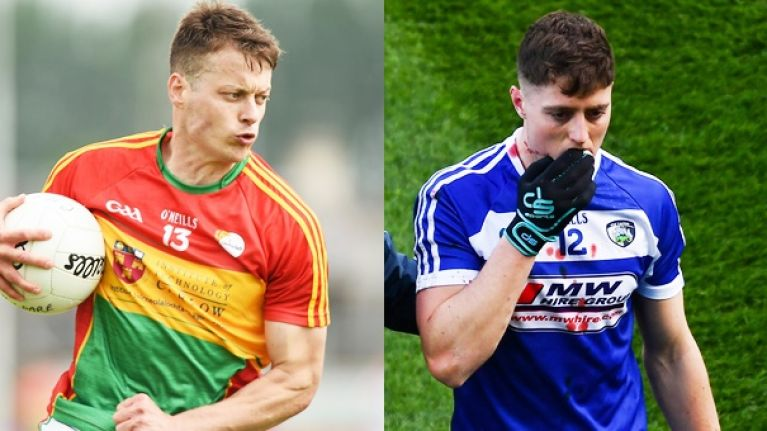 Louth destory Laois in 12 rocky first half minutes, Carlow nearly do it in Westmeath