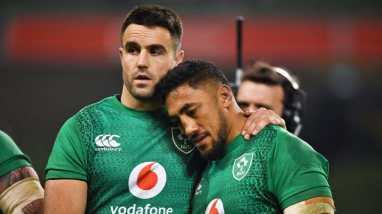 Only three Ireland players emerge with credit as England run amok