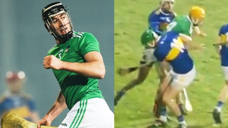 Noel McGrath's shoulder is a wall but Diarmuid Byrnes is pure class as Limerick win battle