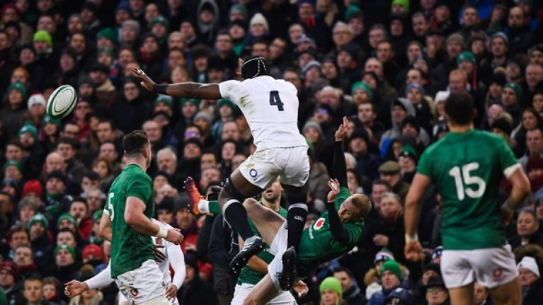 Joe Schmidt: It got quite physical with Keith Earls and it put him out of the game
