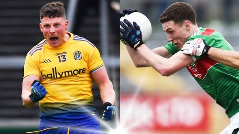 Roscommon's Kerry signing does the job, Mayo's two wing forwards have them excited again