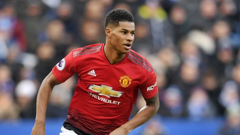 Marcus Rashford has cemented his status as Man United's first-choice striker