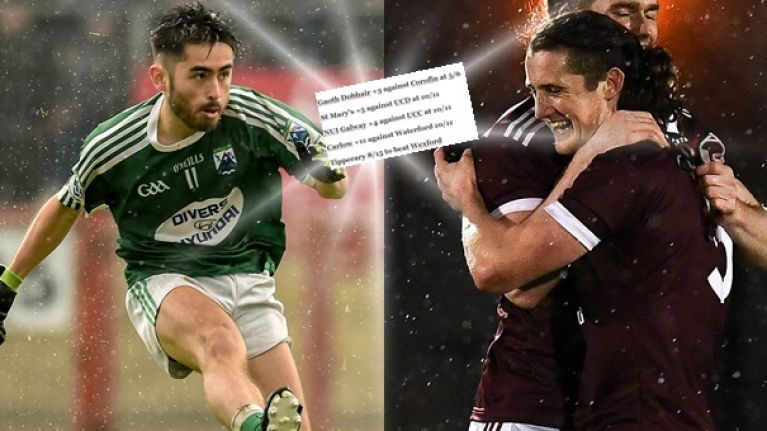The 37/1 accumulator to set you up on a blinder of a GAA weekend