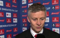 Ole Gunnar Solskjaer rinses Alan Shearer with old FA Cup reference