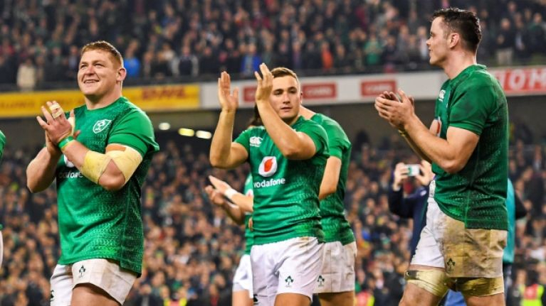 Ireland team that should start, and win big, in Italy