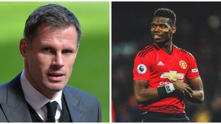 Jamie Carragher walks back Paul Pogba criticism