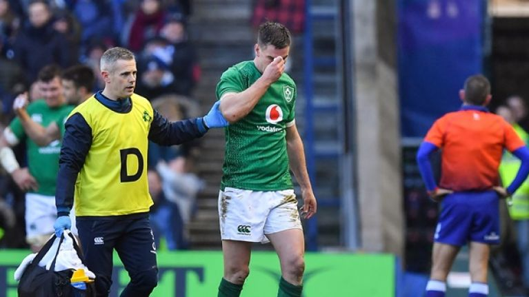 O'Gara on Sexton: There's only so much that he can take